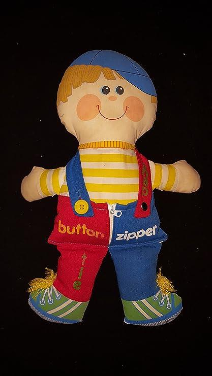 Amazon.com: Dapper Dan 1983 felpa viste muñeca por Playskool ...