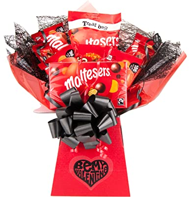 Maltesers Be My Valentine Chocolate Bouquet Tree Explosion Gift