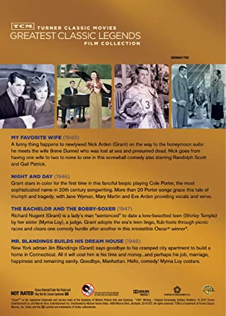 Amazon com: TCM Greatest Classic Legends: Cary Grant (Mr