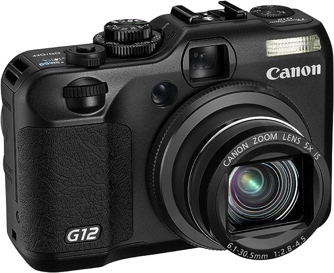 Canon PowerShot G12 - Cámara Digital compacta de 10 MP (Pantalla ...