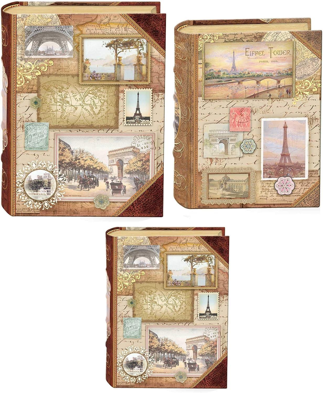 Punch Studio Set 3 bo/îtes Livres PM Journey to France