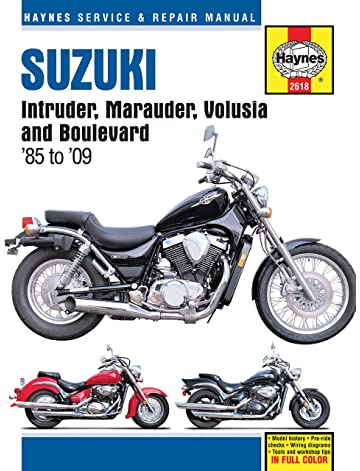 Amazon com: Clymer Repair Manual for Suzuki VS1400 Intruder 87-07