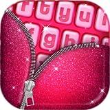 Pink Glitter Keyboard Art