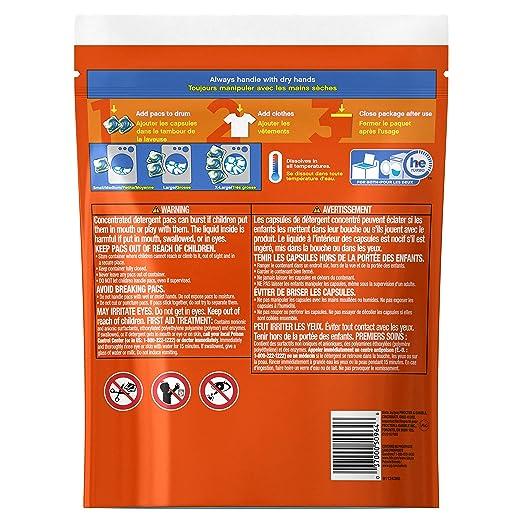 amazoncom tide pods ocean mist scent he turbo laundry detergent pacs 35 count prime pantry