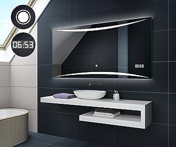 Design Badspiegel mit LED Beleuchtung von Artforma   Wandspiegel ...