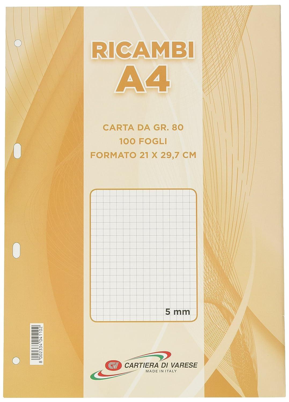 Cartiera di Varese RI43580 Foglio di Ricambio Cartiera di Varese Srl
