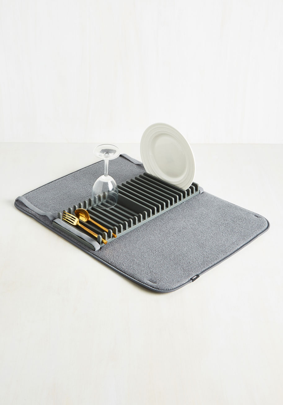Absorbent Endorsement Dish Rack | Mod Retro Vintage Kitchen | ModCloth.com
