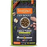 Instinct Raw Boost Healthy Weight Grain Free Recipe with Real Chicken Natural Dry Cat Food by Nature's Variety, 10 lb…
