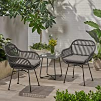 2 Christopher Knight Home Orlando Outdoor Woven Rattan Chairs Deals