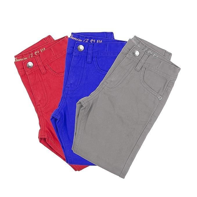 Primark Pack de 3 pantalones, talla 7-8 años, 128 cm: Amazon.es: Ropa y accesorios