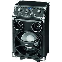 AEG EC 4829 mobiles Entertainment-Center Bluetooth, 2xUSB inkl. Mikrofon, 5-Band-Equalizer, 100 Watt RMS