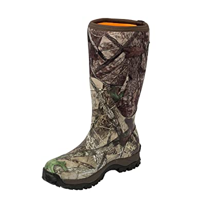 eb58c90a42 Dan's Camo, Tree Frog Plus Boot, Insulated Rubber Neoprene, Comfort Rated  -40