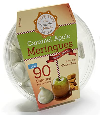 Original Meringue Cookies (Caramel Apple) • 90 calories per serving, Gluten Free,