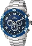 Invicta Men's 'Pro Diver' Quartz Stainless Steel Casual Watch, Color:Silver-Toned (Model: 24603)