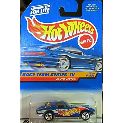 Hot Wheels '63 Corvette Race Team Series IV #4 of 4 Collector 728: Toys & Games