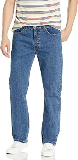 blue motion Dark Denim Straight Cut Jeans 42 = W33