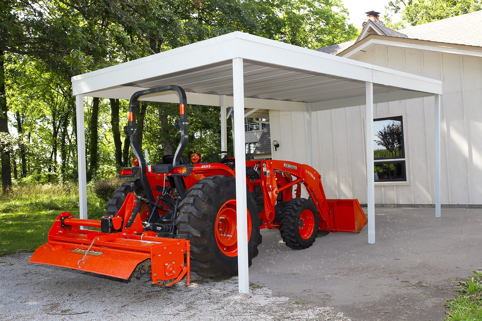 Arrow Sheds CP1020 Free Standing Car Port, 10 by 20-Feet