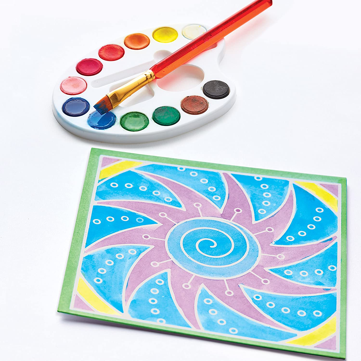 Faber-Castell 3D Sand Painting Textured Sand Art Activity Kit for Kids