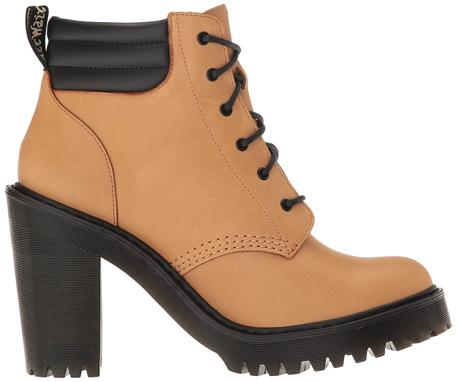 Dr Marten Persephone Lace Up Ankle Boot Tan Leather: Amazon