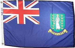 product image for Annin Flagmakers Model 221280 British Virgin Islands Flag Nylon SolarGuard NYL-Glo, 2x3 ft, Blue