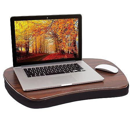 Sofia + Sam Oversized regazo escritorio | Compatible con portátiles de hasta 20 pulgadas