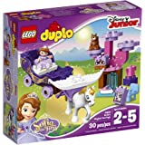 LEGO DUPLO Disney Junior Sofia the First, Sofia's Magical Carriage 10822, Preschool, Pre-Kindergarten Large Building Block Toys for Toddlers