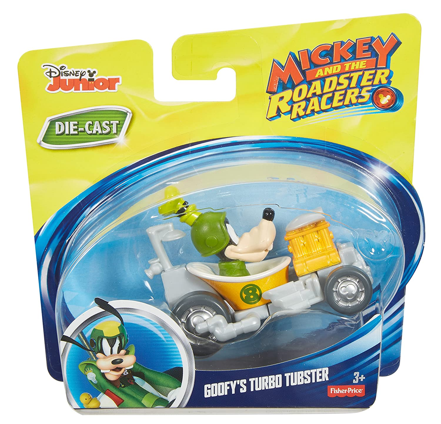 Fisher-Price Disney Mickey and the Roadster Racers - Goofys Turbo Tubster Playset: Amazon.es: Juguetes y juegos