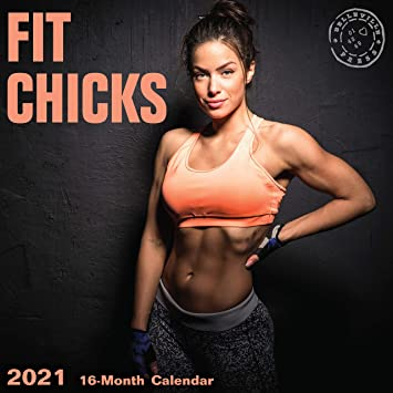 Amazon.com : 2021 Fit Chicks Wall Calendar by Bright Day, 12 x 12 Inch, Hot  Sexy Pinup Girls Gym Working Out Babe : Office Products