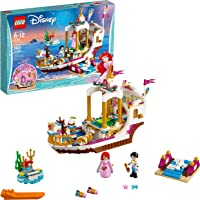 LEGO Disney Princess Ariels Royal Celebration Boat 41153 Children's Toy Construction Set