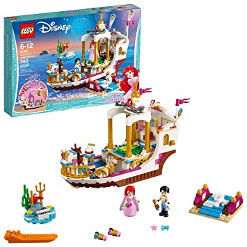 Amazon.com: LEGO Disney Princess Ariel's Royal Celebration Boat ...