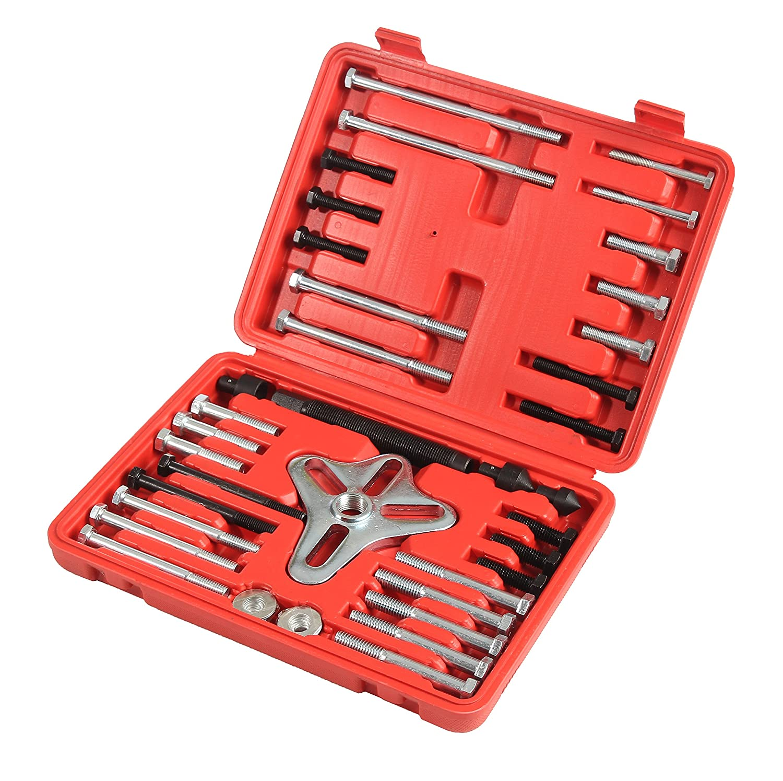 46 Piece Flywheel Puller, Complete Crankshaft Pulley Puller, Steering Wheel Puller by Shankly 4333093405