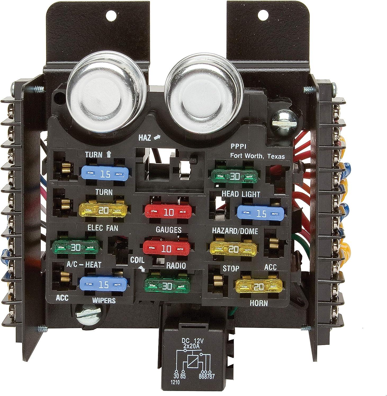 amazon.com: painless performance 30001 universal pre-wired 14-circuit fuse  block: automotive  amazon.com