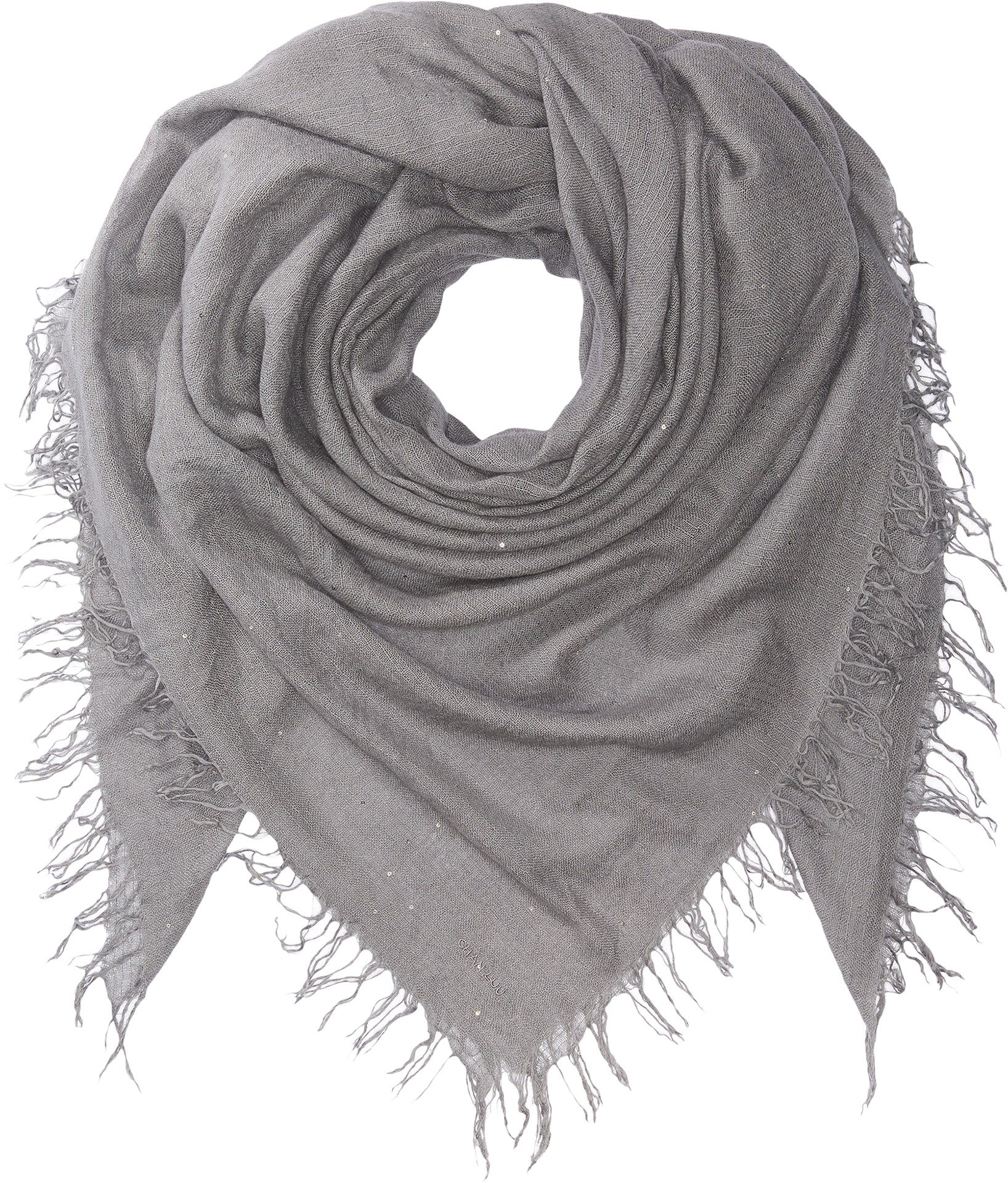 Chan Luu Women's Scattered Sequin Scarf Castlerock One Size by Chan Luu