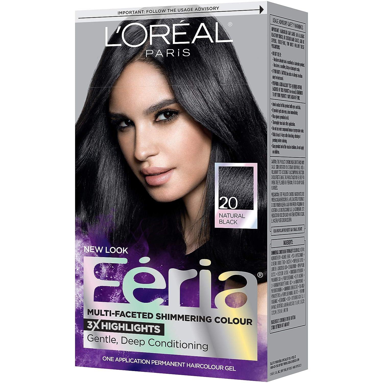 Amazon Loral Paris Feria Permanent Hair Color 20 Black