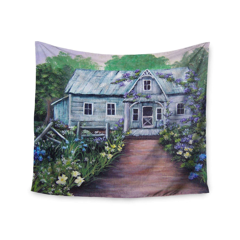 Kess InHouse Cyndi Steen Beginnings Green Nature Wall Tapestry 51 x 60
