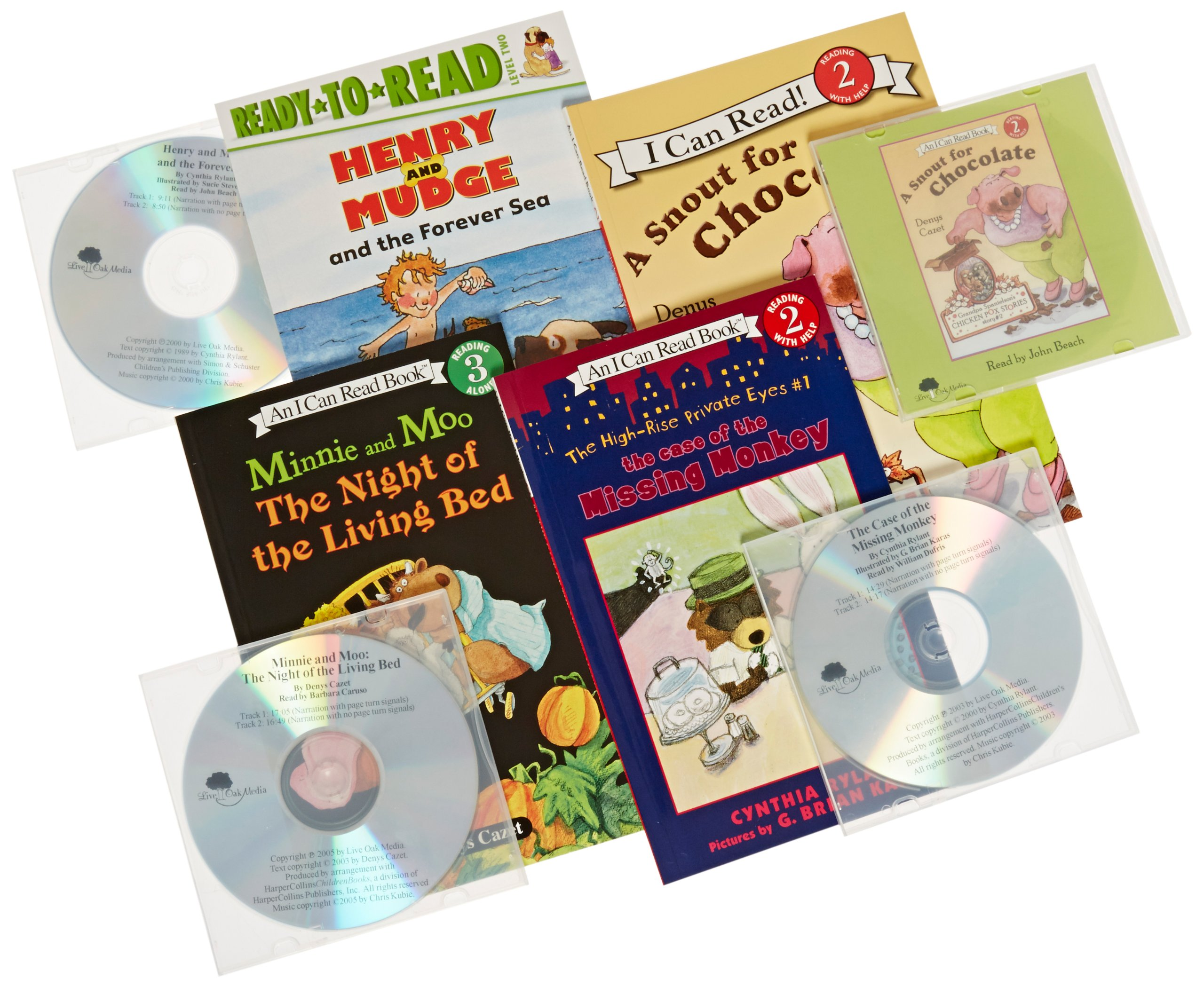 Childcraft Leveled Read Along Chapter Books Set, 2.0 to 2.5 Reading Level
