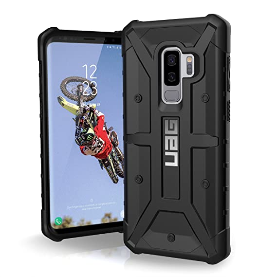 official photos 335a5 40a89 URBAN ARMOR GEAR UAG Designed for Samsung Galaxy S9 Plus [6.2-inch Screen]  Pathfinder Feather-Light Rugged [Black] Military Drop Tested Phone Case