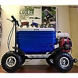 Crazy Coolers Blue Motorized Cooler ASSEMBLED