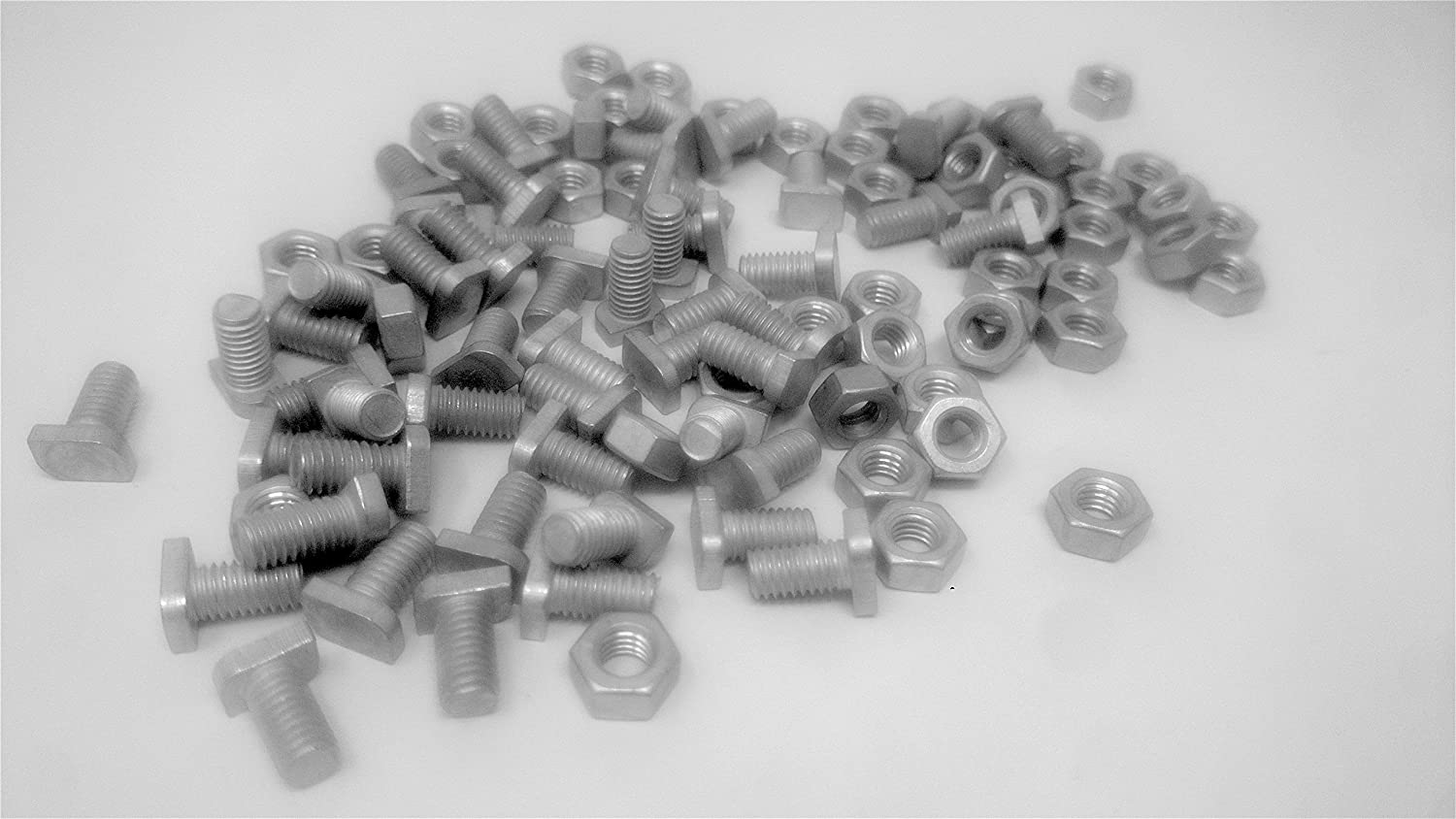 Elloughton Greenhouses 50 Halls Eden Cropped Nuts and Bolts Suitable for Halls Genuine Halls Accessories Eden Palram etc