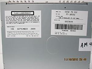Mazda Genuine Accessories (CE50-79-EGX) 6-Disc in-Dash CD Changer