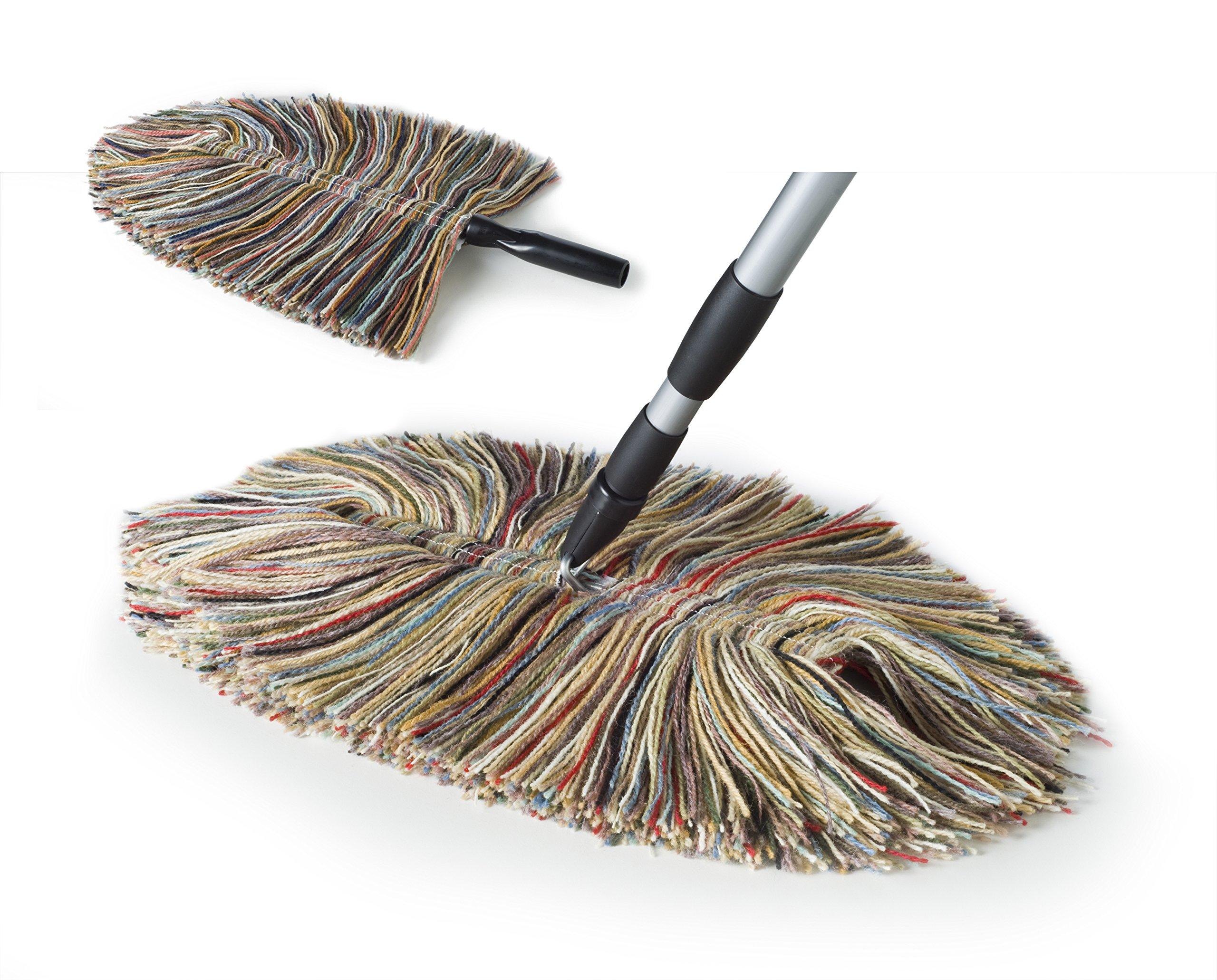 Sladust All Wool Dust Mop with Hand Duster by Sladust