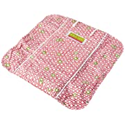 The Plush Pad Portable Changing Pad with Memory Foam, Bubbles in Juice Pattern