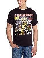 Iron Maiden Men's Killers Cover Short Sleeve T-Shirt