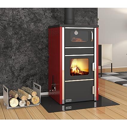 Caldera de leña estufa horno ifyil, Modelo, salida de calor 30 + 4 kW