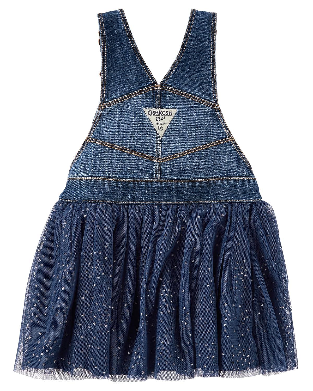 d8784843659 Amazon.com  OshKosh B Gosh Girls  Toddler World s Best Overalls  Clothing