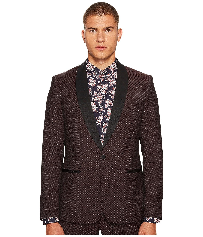 ザクープルス メンズ コート Tuxedo Jacket in Striped Fabric with A B [並行輸入品] B078S6MQNC  Large