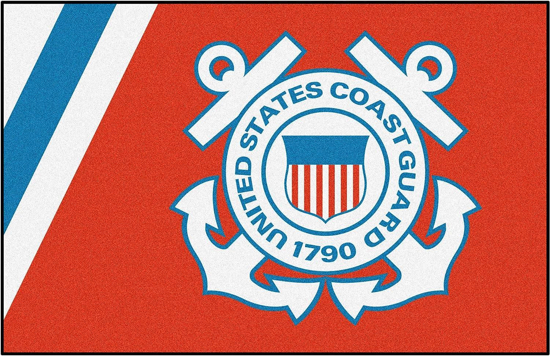 Fanmats Military  Coast Guard Nylon Face Starter Rug