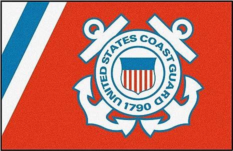 Fanmats Military  Coast Guard Nylon Face Starter Rug 6128