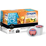 Snapple Peach Iced Tea Keurig Single-Serve K-Cup Pods, 72 Count (6 Boxes of 12 Pods)