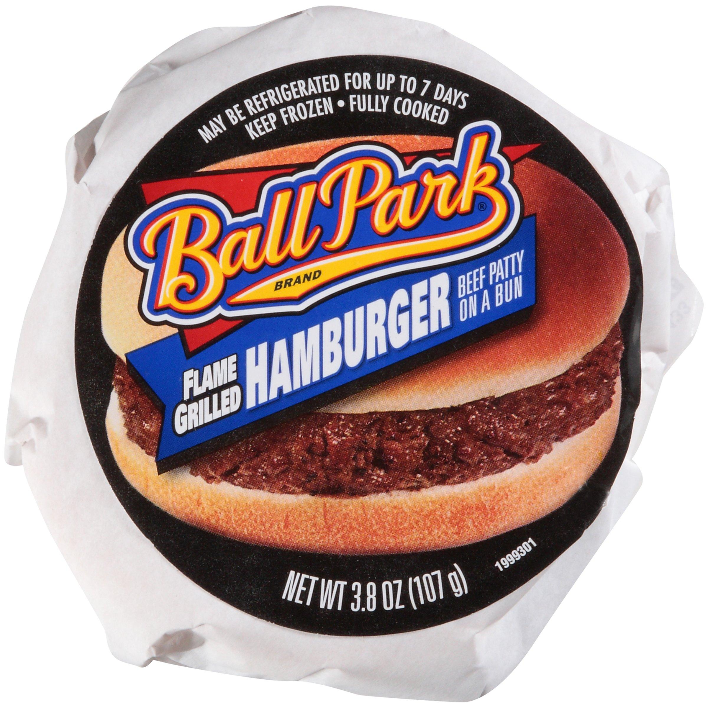 Ball Park Hamburger Sandwich 3.8 oz-Pack of 12